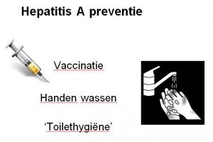 Besmetting met het hepatitis A-virus